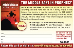 The Middle East in Bible Prophecy