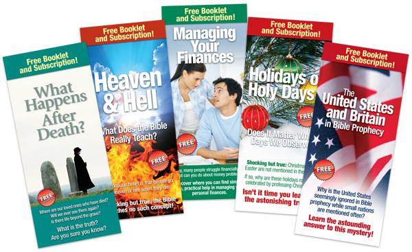 good news brochure distribution program to expand inside united