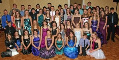 """Teen Prom"" attendees at the Families For God weekend. Photo by Pam Blakesley."