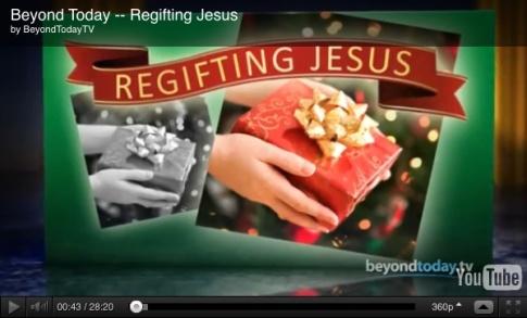 regifting jesus