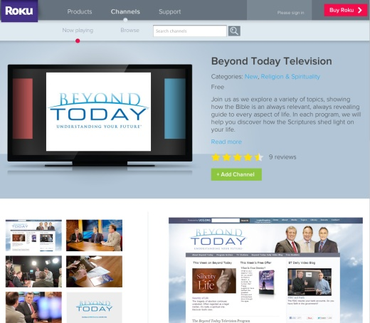 beyond today on roku