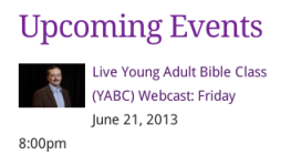 YABC Upcoming Event