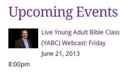 YABC Upcoming Event