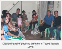 Tubod Leyte relief