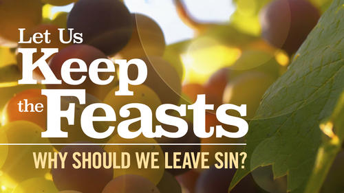 why should we leave sin