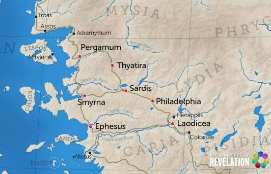 Seven Churches of Revelation